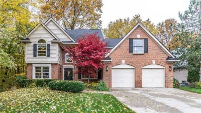 NOVI Single Family Home For Sale: 23190 Mystic Forest Dr