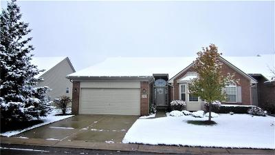 Commerce, Commerce Township, Commerce Twp Condo/Townhouse For Sale: 2103 Red Maple Lane #113