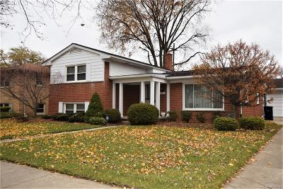 Trenton MI Single Family Home For Sale: $224,900
