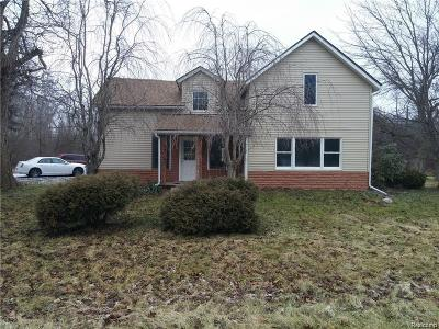 Canton, Canton Twp Single Family Home For Sale: 4770 Denton Road