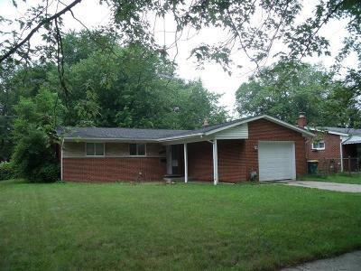 Farmington Hills Single Family Home For Sale: 22103 W Brandon Street
