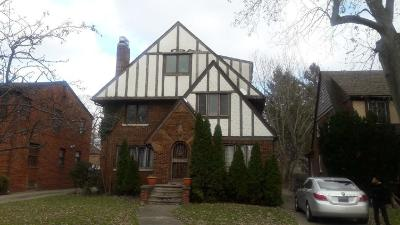 Detroit Single Family Home For Sale: 16148 Rosemont Avenue
