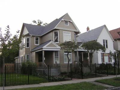 Detroit Multi Family Home For Sale: 1743 Van Dyke Street