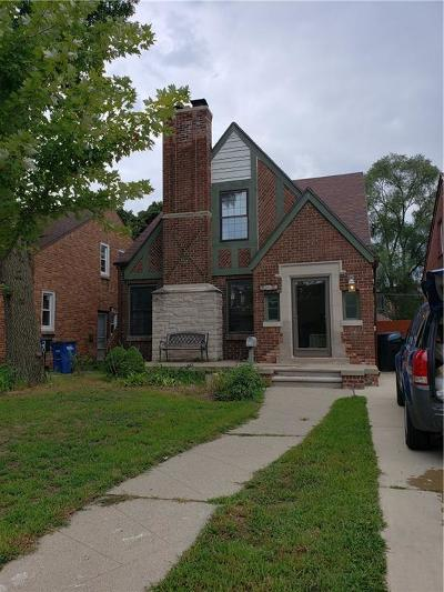 Detroit MI Single Family Home For Sale: $199,999