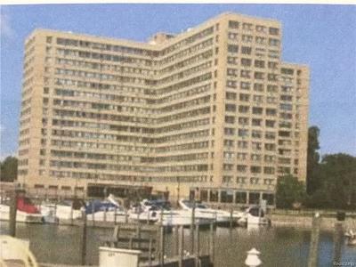 Detroit Condo/Townhouse For Sale: 8900 E Jefferson Avenue Unit 1132 Avenue E #1132