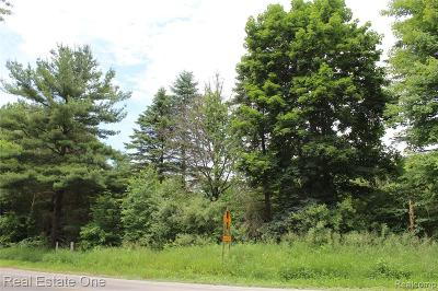 Livingston County Residential Lots & Land For Sale: Hyne Road