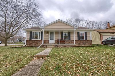 Ypsilanti Single Family Home For Sale: 5792 New Meadow Dr Drive
