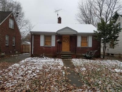 Detroit Single Family Home For Sale: 12393 Whitehill Street