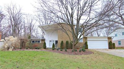 Farmington, Farmington Hills Single Family Home For Sale: 30123 Fox Grove Road