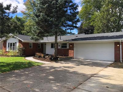 Livonia Single Family Home For Sale: 16941 Farmington Road