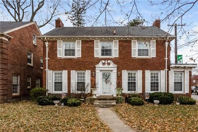 Detroit Single Family Home For Sale: 19035 Wildemere Street
