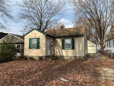 Hazel Park Single Family Home For Sale: 1005 E Evelyn Avenue