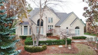 Rochester Hills MI Single Family Home For Sale: $624,900