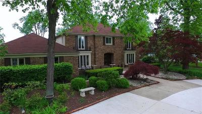 Bloomfield Twp Single Family Home For Sale: 3526 Ridgeview Court