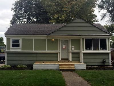 Madison Heights MI Single Family Home For Sale: $149,900