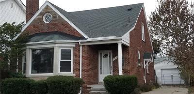 Dearborn MI Single Family Home For Sale: $149,900