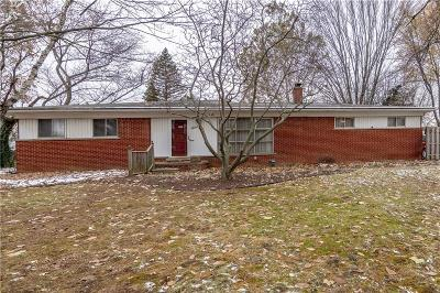 Farmington, Farmington Hills Single Family Home For Sale: 28417 Kirkside Lane