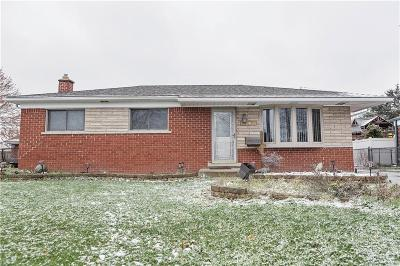 Warren Single Family Home For Sale: 30029 Hayes Road