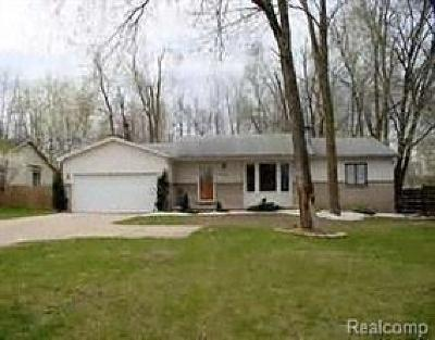 Commerce Twp Single Family Home For Sale: 825 W Oakley Park Road