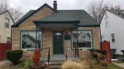 Detroit Single Family Home For Sale: 7305 Faust Avenue