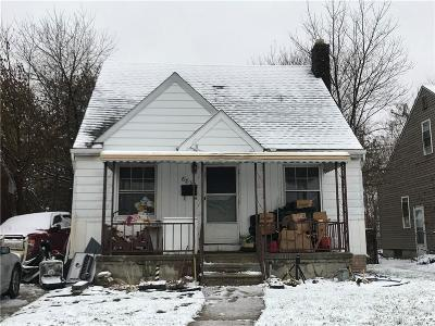 Detroit Single Family Home For Sale: 6839 Winthrop Street