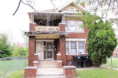 Detroit Multi Family Home For Sale: 8624 Dexter Avenue