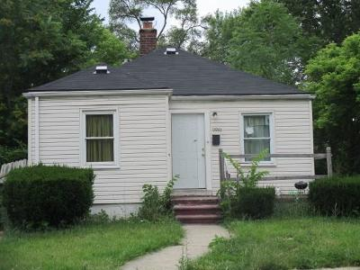 Detroit Single Family Home For Sale: 9981 Rutherford Street