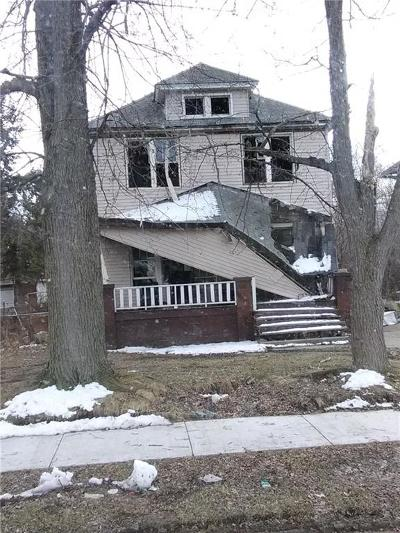 Detroit Single Family Home For Sale: 14570 Coram Street