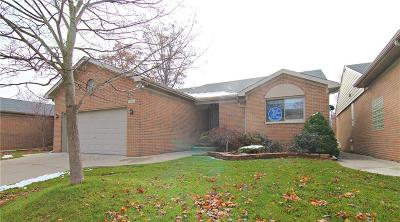 South Lyon Condo/Townhouse For Sale: 404 Walnut Drive