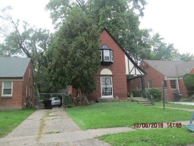 Detroit Single Family Home For Sale: 15437 Heyden Street