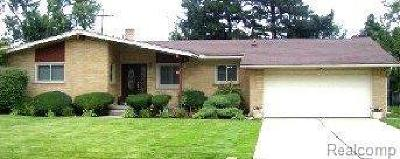 Southfield Single Family Home For Sale: 22442 Greenview Road