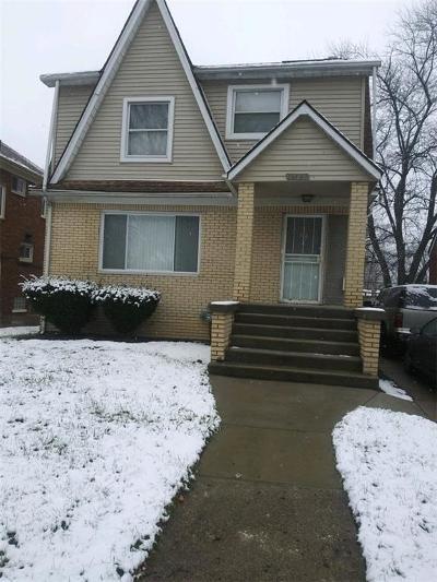 Detroit Single Family Home For Sale: 14568 Ashton Road