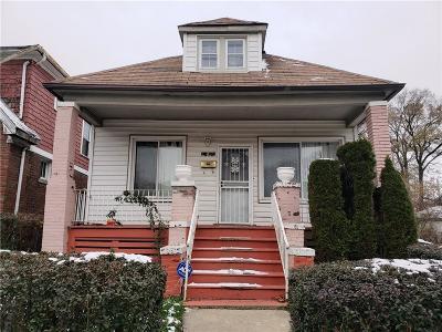 Detroit Single Family Home For Sale: 13845 Goddard Street