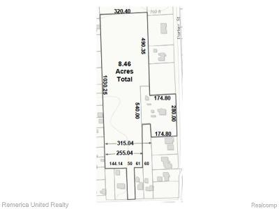 Farmington Hills Residential Lots & Land For Sale: 21505 Parker Street