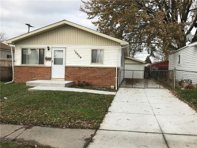 Macomb County Single Family Home For Sale: 19829 Woodward