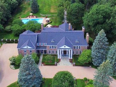 Bloomfield Hills Single Family Home For Sale: 1115 Country Club Road