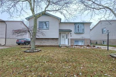 Brownstown Twp, Flat Rock Single Family Home For Sale: 32139 Covington Road