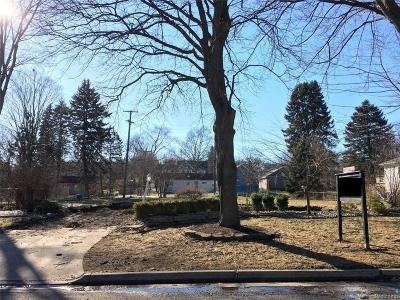 Northville Residential Lots & Land For Sale: 719 Horton Street