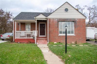 Inkster Single Family Home For Sale: 26714 Trowbridge Street