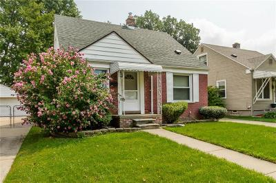 Dearborn Single Family Home For Sale: 2645 Chestnut Street