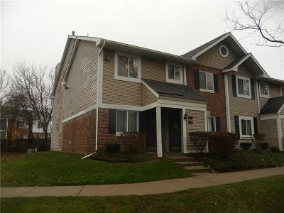 Farmington, Farmington Hills Condo/Townhouse For Sale: 31502 Orchard Creek