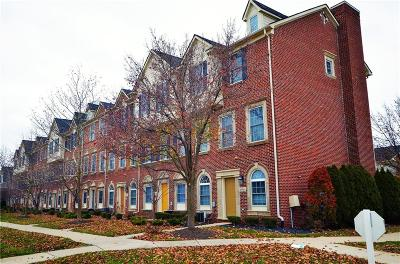 Canton Condo/Townhouse For Sale: 45561 N Stonewood Road