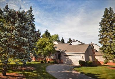 Farmington, Farmington Hills Condo/Townhouse For Sale: 37681 Russett Drive
