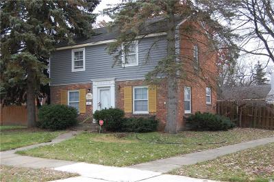 Southfield Single Family Home For Sale: 18229 Melrose Avenue