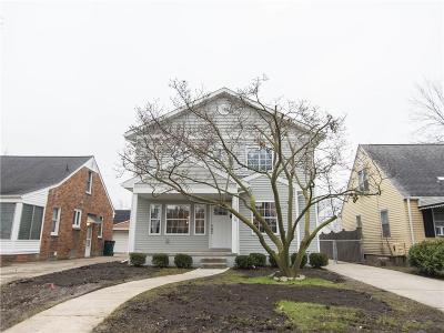 Ferndale,  Royal Oak, Berkley Single Family Home For Sale: 1229 Larkmoor Boulevard