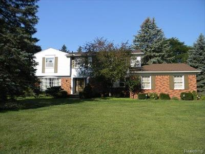 Farmington Hills Single Family Home For Sale: 32487 Olde Franklin Dr
