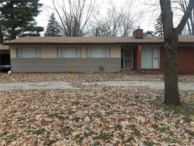 Southfield MI Single Family Home For Sale: $257,900