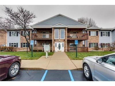 Westland Condo/Townhouse For Sale: 1695 Shoemaker Drive
