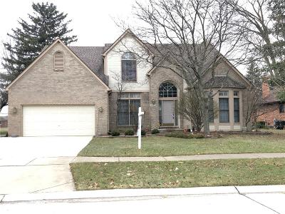 Troy Single Family Home For Sale: 4172 Vassar Drive