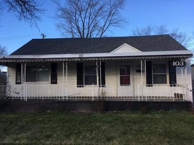 Hazel Park MI Single Family Home For Sale: $117,500